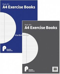 Details about School Exercise Books Kids Handwriting Books Childrens Ruled  Lined Book A4 A5