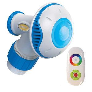 starbright led return jet above ground swimming pool light remote control ebay
