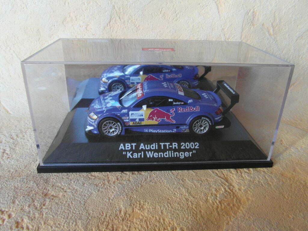 SCHUCO SCHUCO SCHUCO ABT AUDI TT-R 2002 KARL WENDLINGER 1 43 935750
