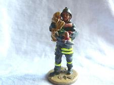 Figurine pompier Delprado - San Giuliano Italie 2002  - Fireman fire dress