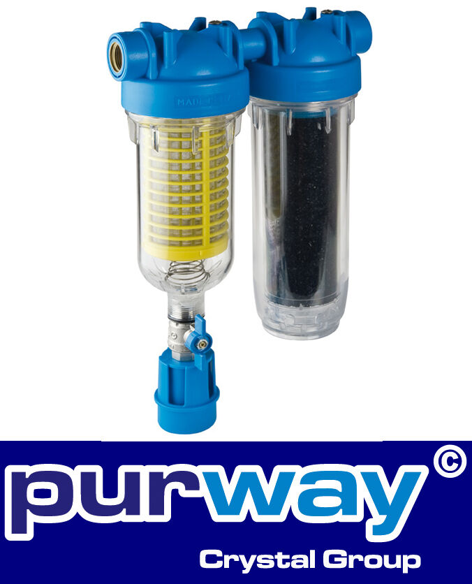 HYDRA RAIN Master DUO RLH la 1  pollici filtro acqua chassis PLUS FILTRO