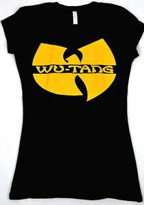 ae94cccf5c77d WU TANG CLAN T-shirt Women JUNIORS S-XL Rap Hip Hop Gza Rza ODB New ...