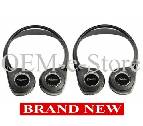 2017-2020 Chrysler Pacifica Theater Compatible 2 Wireless Headphones by Cadillac