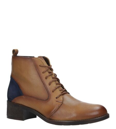 Bottes Femmes maciejka Véritable Cuir Chaussure Lacée Hiver Chaussures Confortable Taille 36-41 Neuf