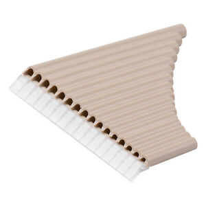 16 Pipe Pan Flute Panpipes C Key Pan Pipes for Beginners Students with F5U5