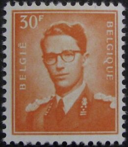 BELGIUM-468-VF-MH-30fr-from-the-King-Baudouin-issue