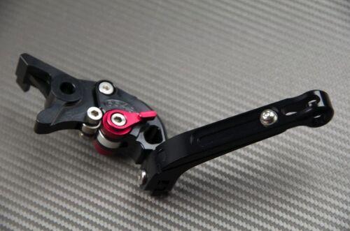 SE 2010-2015 Adjustable Folding Flip Up Levers Lever Black CNC BMW R1200 RT