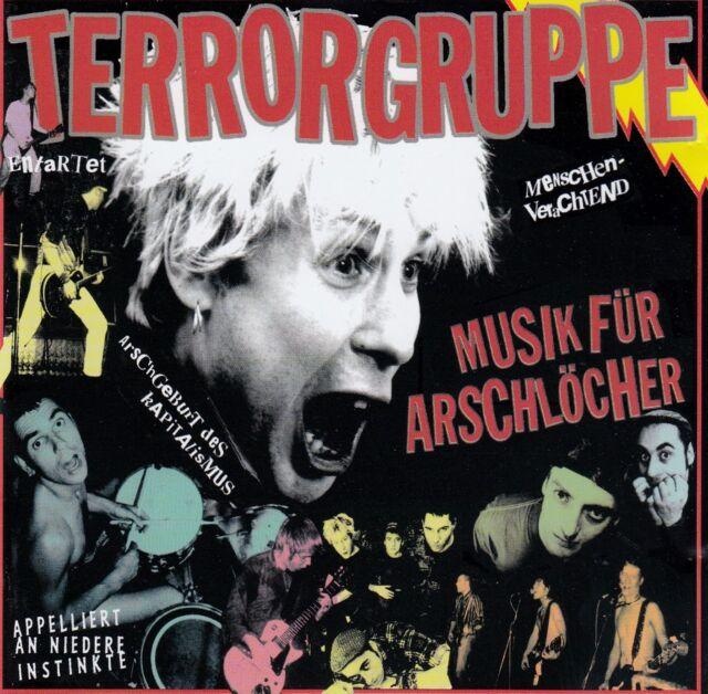 TERRORGRUPPE : MUSIK FÜR ARSCHLÖCHER / CD - TOP-ZUSTAND