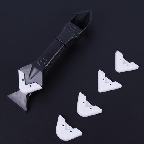 3 en 1 Angle d/'étanchéité Scraper silicone Coulis Scellant Tool Kit Set ReBGS