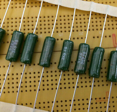 DRALORIC 1pcs Vishay G204 18K 7W 2/% Vitreous Wirewound Resistor