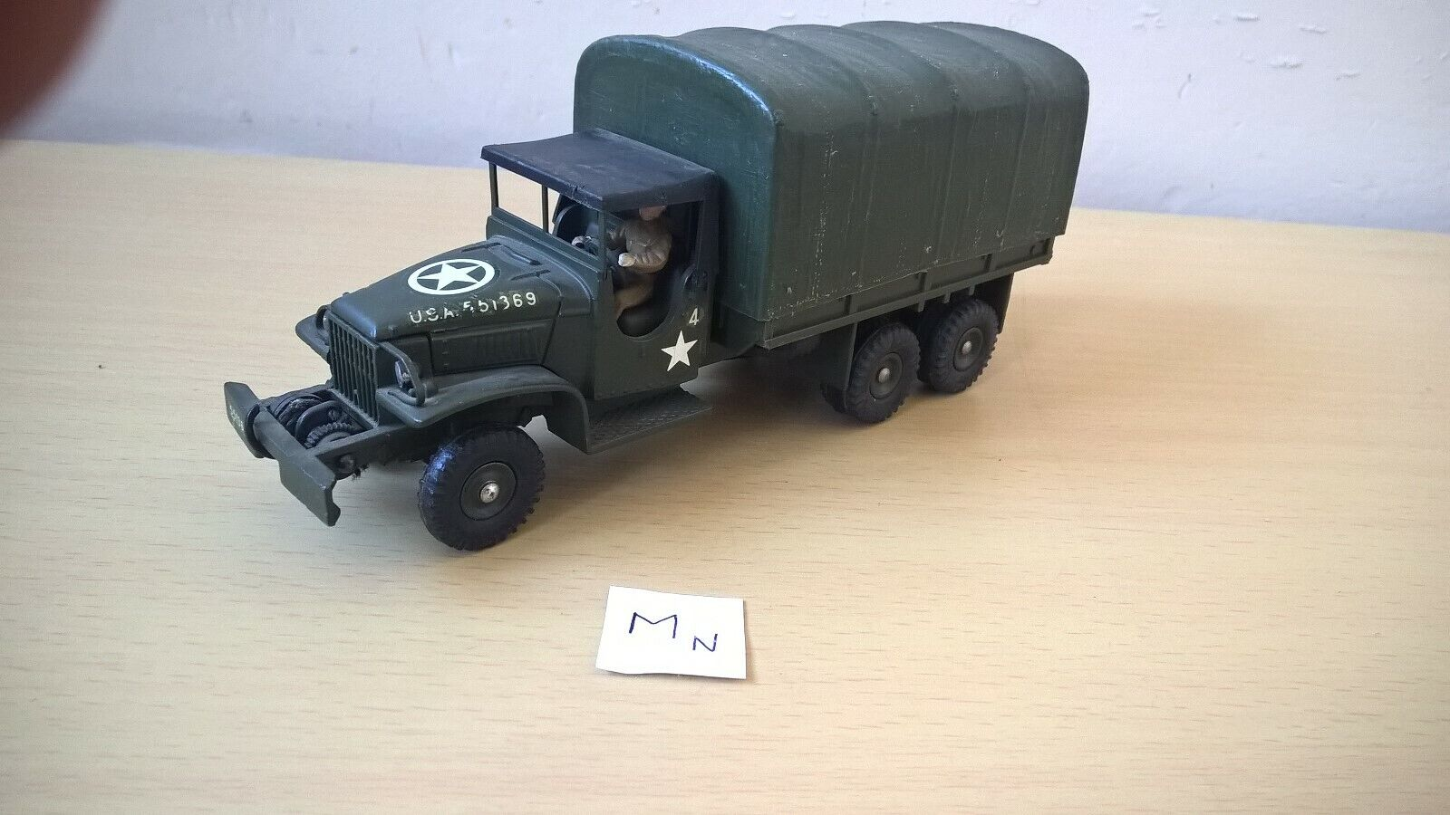 SUPER DINKY 143E  GMC CCKW 353  MECCANO FRANCE