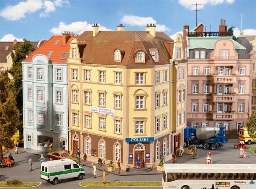 Faller h0 130910 stazione di polizia Goethe Straße 4-stöckig NUOVO
