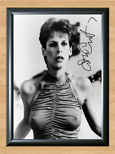 Jamie-Le-Curtis-Trading-Places-Nude-Signed-Autographed-A4-Photo-Print-Poster-dvd