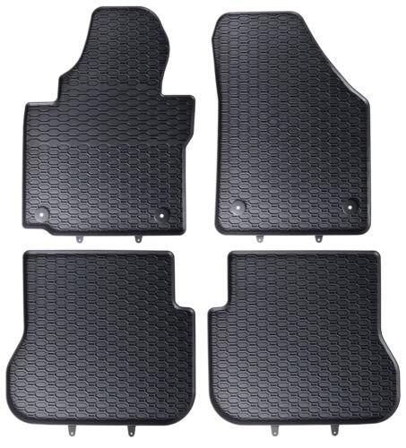 Qualität Gummimatten Gummi Fußmatten passend für VW Caddy 2K Life Maxi TDI NEU