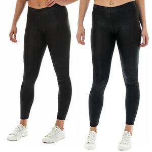 UK SIZE 8-10 NEW BLACK FLORAL PRINT CASUAL STRETCH SKINNY LEGGINGS PANTS
