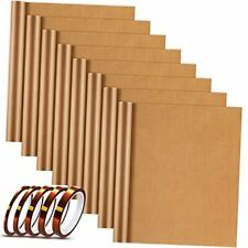 Ptfe Heat Transfer Sheets 8 Pieces Heat Press Paper 12 X 16 Inches With 5