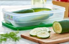 Tupperware Fridgesmart Vegetable Crisper Long 1-3/4qt Ventsmart Green New