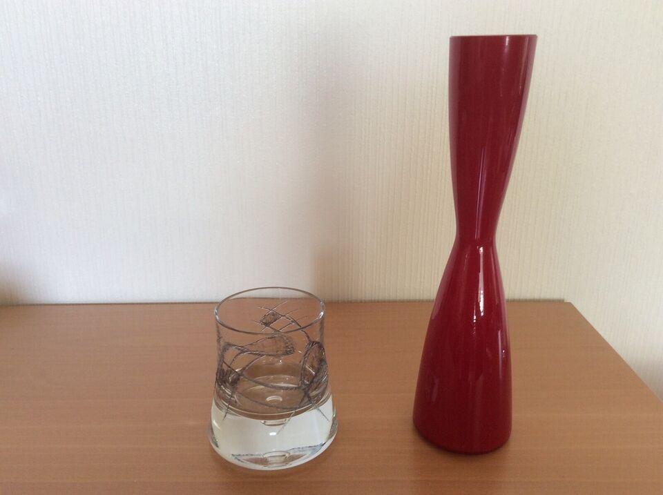 Glas, 2 vaser