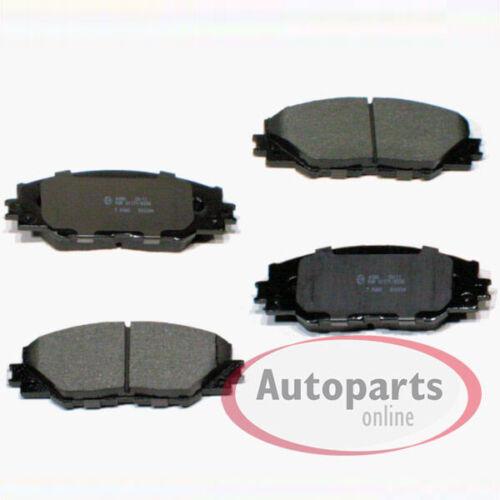 A4 Toyota RAV 4 IV Bremsbeläge Bremsklötze vorne für die Vorderachse