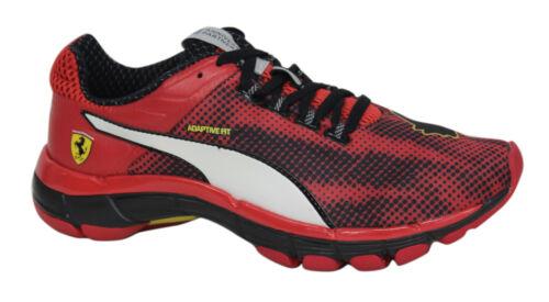 Zapatillas correr hombre para Ferrari U96 188025 Speed cordones 01 con para rojos Mobium Puma Elite RRSrqaTxw