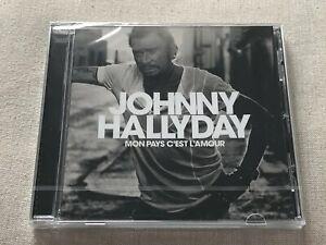 JOHNNY-HALLYDAY-MON-PAYS-C-039-EST-L-039-AMOUR-Album-CD-NEUF