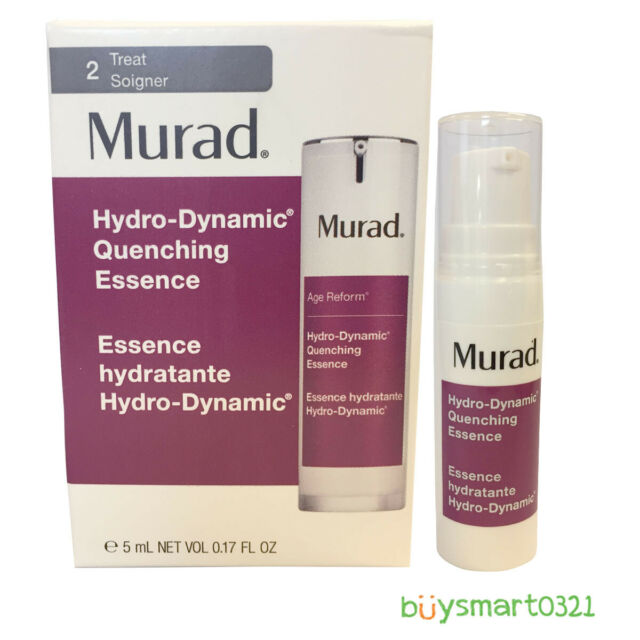 New Murad Hydro-Dynamic Quenching Essence Travel Size 5ml/.17oz Free Shipping