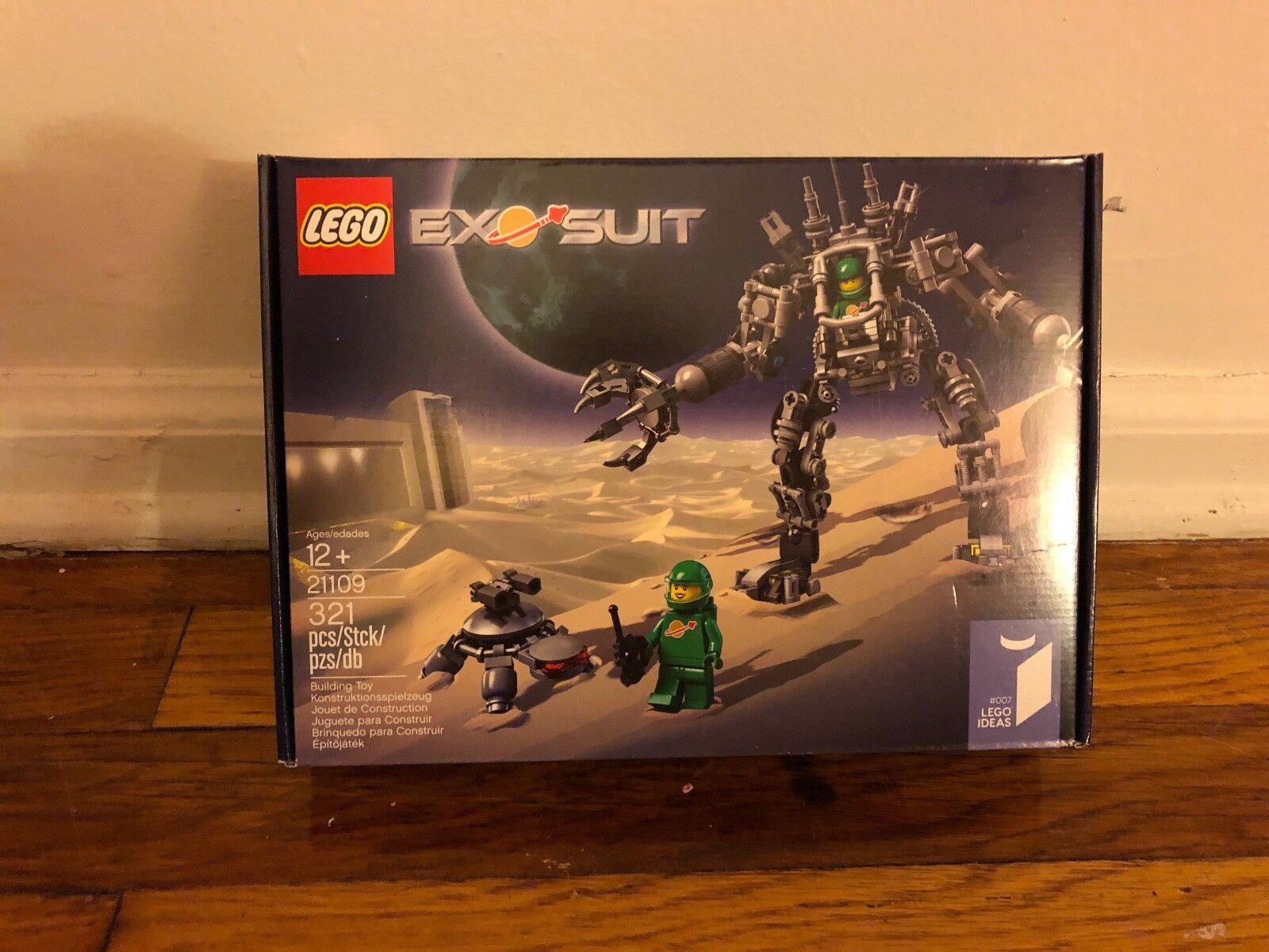 RETIRED New New New  LEGO CUUSOO Ideas Exo-Suit (21109) 5ae8ec