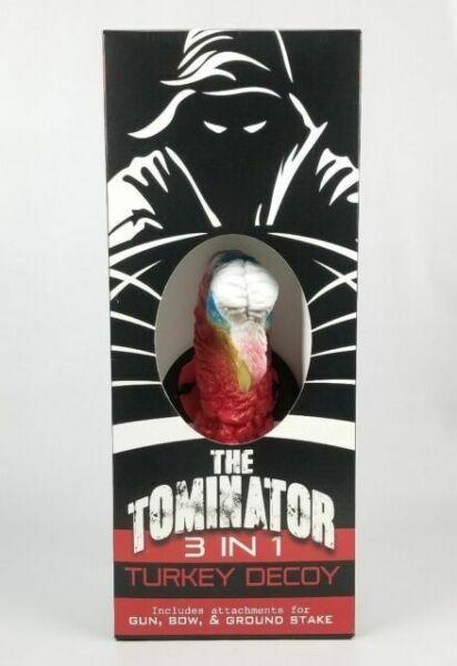Turkey Reapers THE TOMINATOR 3 IN 1 Turkey Decoy Ground Stake Bow /& Gun Mount