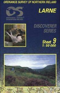 Larne (Irish Discoverer Maps): Shee... by Ordnance Survey of N Sheet map, folded
