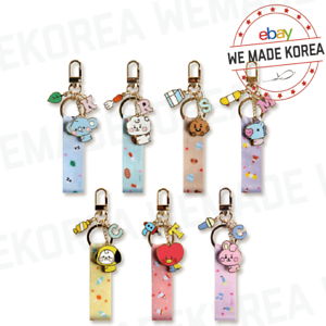 BT21-Baby-Strap-Metal-Keyring-7types-Official-K-POP-Authentic-Goods