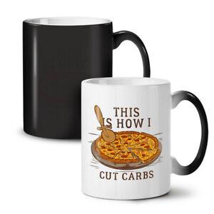 Pizza Funny Gym NEW Colour Changing Tea Coffee Mug 11 oz | Wellcoda