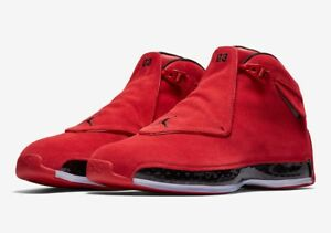 outlet store 32d04 a9780 Details about 2018 AIR JORDAN 18 XVIII RETRO TORO GYM RED AA2494-601 size  8-13