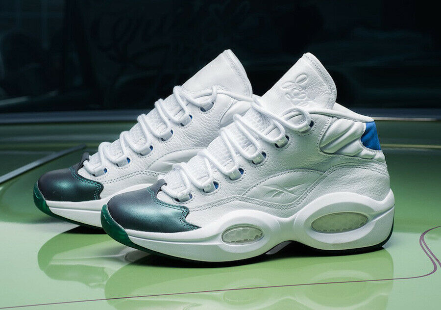 CURRENSY X REEBOK Question Mid  Jet Life  Basketball shoes size 9.5 New CN3671