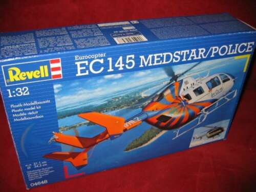 REVELL® 04648 1:32 EUROCOPTER EC 145 MEDSTAR//POLICE NEU OVP