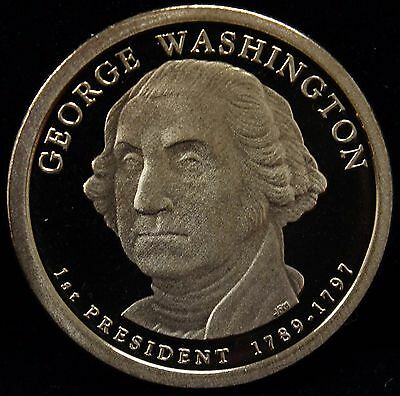 2007-S Presidential Dollar George Washington Proof