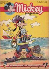 Mickey Magazine n° 83/1952 2ème année Plutot Pirate couverture Edition Belge