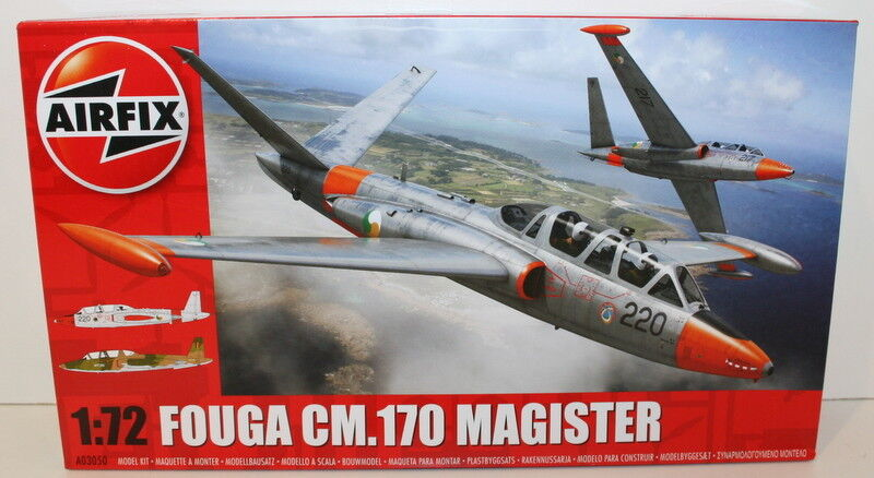 Airfix 1 72 72 72 Scale A03050 Fouga CM170 Magister - Model Kit Factory Sealed 10ac53