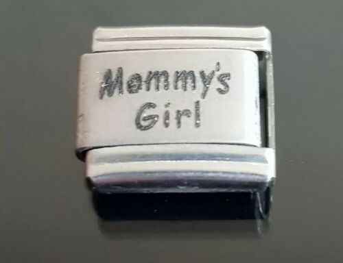 Mommy/'s Girl italiano pulsera con dijes encanto enlace