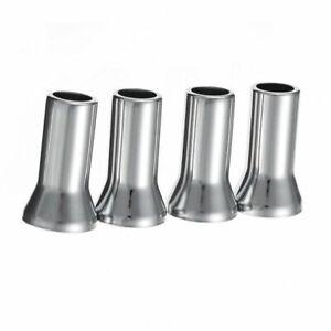 4PCS-Chrome-Alloy-Universal-Silver-Wheel-Tyre-Valve-Caps-Stem-Dust-Cover-IB