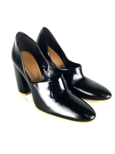 5 1210 us7 eur38 Leather Zara Size 101 Heel Shoes Ref Black High Uk5 qPAzOfB