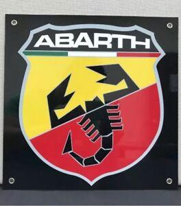 Abarth-Fiat-Lancia-Alfa-Motor-Oil-Gas-Garage-Sign