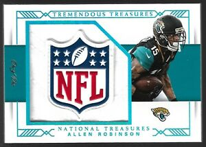 2017-Panini-National-Treasures-Allen-Robinson-NFL-Shield-Logo-Patch-1-1-Bears