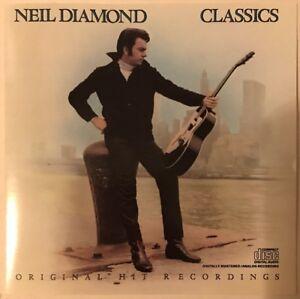 NEIL-DIAMOND-CLASSICS-THE-EARLY-YEARS-CD-COLUMBIA-1986-NEAR-MINT