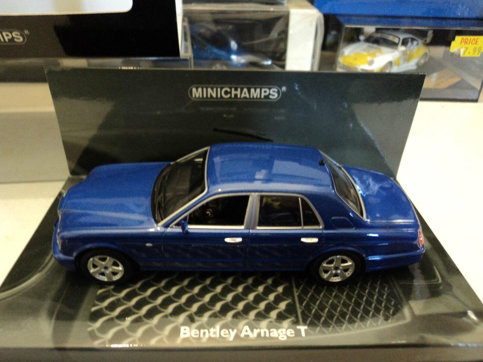 bienvenido a orden Minichamps 1 1 1 43 Bentley Arnage T azul metallic  conveniente