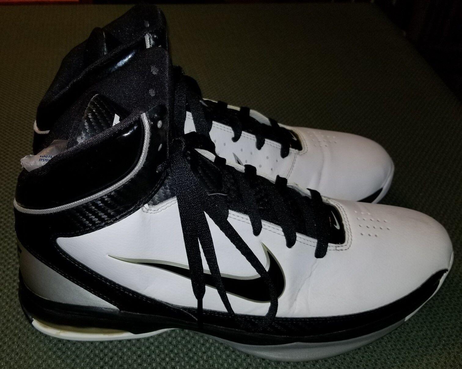 Nike air basket max ostentate bianco nero basket air scarpe taglia uomini noi 11 usata 82d630