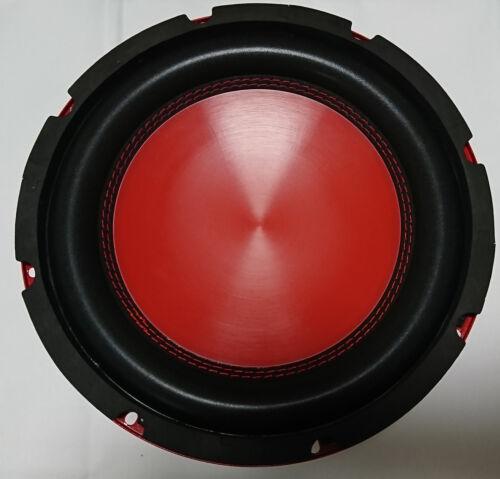 Soundlab L042L 25cm  Auto Bass Lautsprecher 250mm Subwoofer 200W rot