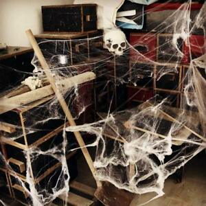 Halloween-Spider-Web-with-Black-Spider-Stretchable-Cobweb-Party-Decoration