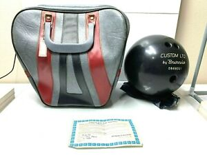 Brunswick-1988-DON-CARTER-BOWLING-BAG-AND-BALL-W-CERTIFICATE-VINTAGE