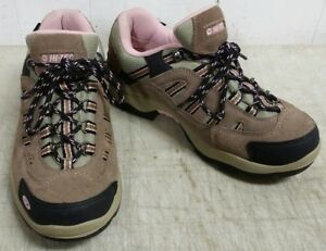 4680c43ed2a Details about Hi-Tec 22033 Women's Bandera Low Waterproof Hiking Shoes,  Taupe-Coral, Size 7.5