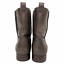 thumbnail 5 - Frye Cara Short Ankle Boot Bootie in Smoke Brown Leather Western Riding Size 9.5
